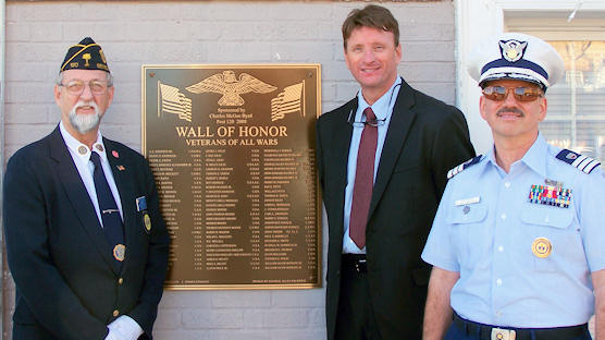 Wall of Honor Dedication, Seneca, SC on Nov 11 2011